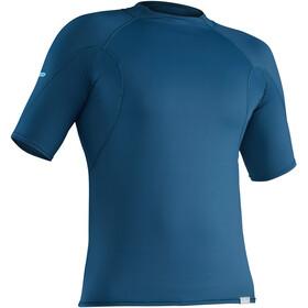 NRS M's Rashguard Short Sleeve Shirt Moroccan Blue